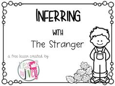 Free inferring lesson for the book, The Stranger
