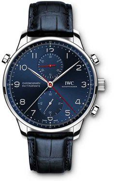 "Portugieser Chronograph Rattrapante ""Edition Boutique Munich""."