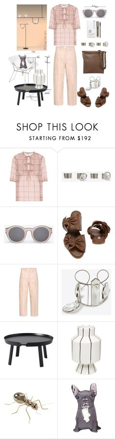"""""""Good design"""" by statuslusso ❤ liked on Polyvore featuring Valentino, Maison Margiela, Casadei, Chloé, Muuto, MANI, Mambo Unlimited Ideas and Silken Favours"""