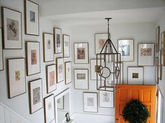 Gallery wall - use for my fourth floor stairway?