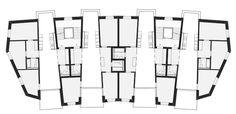 5. Rang «Durch und durch» von Zinsli Magdeburg Architekten, Regelgeschoss (Plan: Projektverfassende)