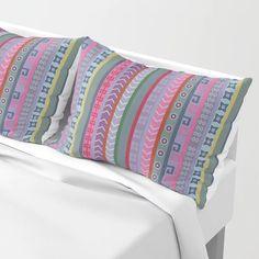 Buy Ethnic Peruvian Striped Pattern Pillow Sham by annalemos. Worldwide shipping available at Society6.com. Just one of millions of high quality products available.