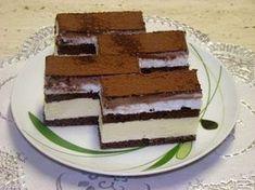 Myslíme si, že by sa vám mohli páčiť tieto piny - sbel Healthy Recepies, Healthy Dessert Recipes, Sweet Desserts, Cake Recipes, Czech Recipes, Ethnic Recipes, Food Cakes, Nutella, Bakery