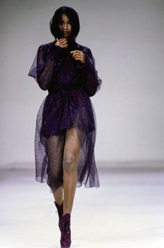Azzedine Alaïa Fall 1991 Ready-to-Wear Fashion Show - Beverly Peele