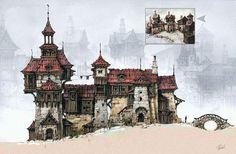 warhammer conceptart - Google 검색