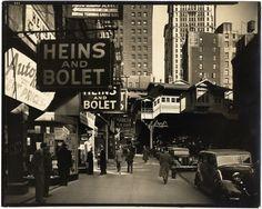 Berenice ABBOTT:  Radio Row, Cortlandt St, Manhattan, 1936 / VINTAGE / STAMPED!  | eBay