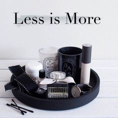 Less is More – Minimalist Beauty