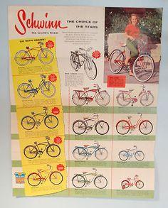 Vintage Schwinn bicycle ad
