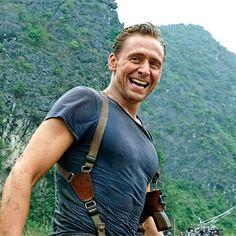 #TomHiddleston #CaptainJamesConrad #KongSkullIsland