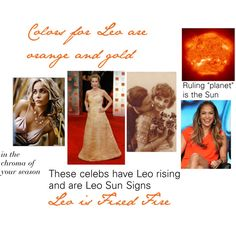 """""""Colors for Leo"""" by expressingyourtruth on Polyvore"""