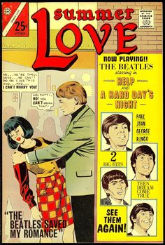 Summer Love featuring The Beatles — 1966 Comic Book