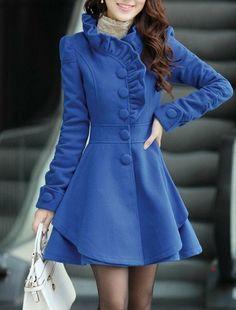 Sapphire women's Princess style dress Coat jacket spring autumn winter coat jacket cute coat