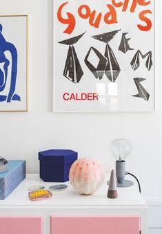 Med patchwork, pasteller og gråt gulv har Sofie skabt et anderledes drømmehjem | Boligmagasinet.dk