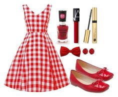 Outfit #1435 by ivanna1920 on Polyvore featuring polyvore fashion style Simone Rocha Estée Lauder Wet n Wild clothing