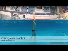 Freestyle Swimming Drill - Vertical kick