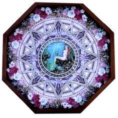 Mermaid 3=seashell mosaics