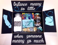 Long Distance Relationship Box More Ideas