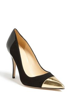 Gold toe + Kate Spade = perfection.