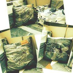 Taidan olla jonkin sortin tyyny friikki, tyynyjä pitää olla vinot pinot ja paljon erilaisia ja monesta eri materiaalista tehtyjä. Tänä ...