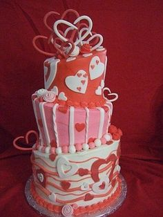 178 Best Cakes Valentines Love Images Pound Cake Birthday Cakes
