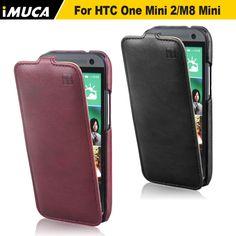 for HTC One mini 2  Case,100% Original Brand Leather Flip Case Cover For HTC One Mini 2 M8 Mini High Quality In Stock
