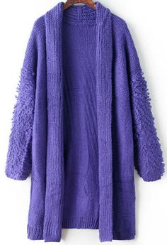 Shop Blue Long Sleeve Loose Knit Cardigan online. Sheinside offers Blue Long Sleeve Loose Knit Cardigan & more to fit your fashionable needs. Free Shipping Worldwide!