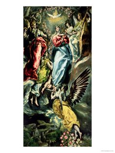 The Assumption of the Virgin    ...by El Greco