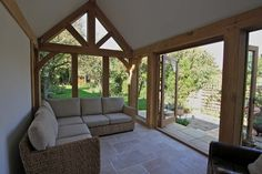 Natural StructuresExtensions New - Natural Structures Bungalow Extensions, Garden Room Extensions, House Extensions, Oak Framed Extensions, Oak Frame House, Snug Room, Thatched House, Natural Structures, Wooden House