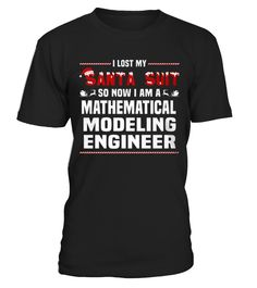 Top Shirt Mathematical Modeling Engineer front 2