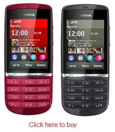 Nokia Asha 300 comes with 1 Year Nokia India Warranty and Free Transit Insurance and 6 months warranty for accessories...for less than Rs. 6,200