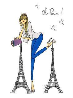 Oh Paris Angéline MELIN