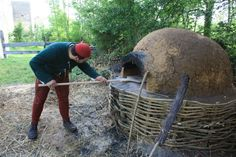 Blog;Research;To make a bread oven   Company of Saynt George