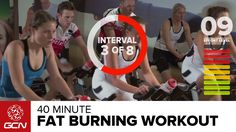 Welcome to GCN's 40 Minute Fat Burning Workout. Want more? Subscribe to GCN on YouTube: http://gcn.eu/gcnsubs GCN's 40 minute indoor cycling workout is desig...