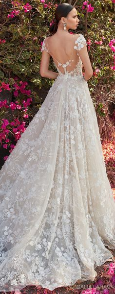 Wedding dress by Galia Lahav Couture Bridal - Fall 2018 - Florence by Night - Coco