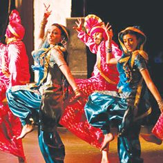 Bhangra dance: This looks like it would be really fun to do and the music is good 2