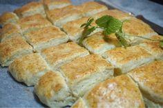 Himmelska engelska scones i långpanna - Victorias provkök Scones, Our Daily Bread, Fika, No Bake Desserts, Afternoon Tea, Food And Drink, Health Fitness, Tasty, Sweets