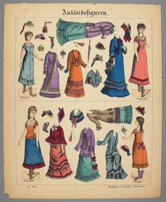 77.4170: Ankleidefiguren No. 7385 | paper doll | Paper Dolls | Dolls | National Museum of Play Online Collections | The Strong