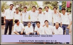 Our team for 2014 season. #formulastudent #executiveboard #triumphantracers #FSspirit
