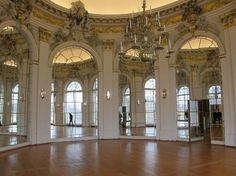 Interior of Charlottenburg  Palace
