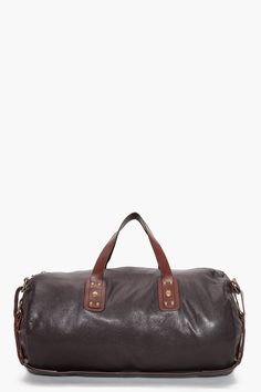 MARC BY MARC JACOBS    SIMPLE LEATHER DUFFLE.  349 Duffel Bags f871a232d6391