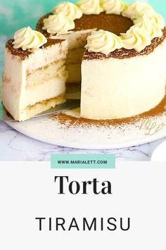 Donut Recipes, Mexican Food Recipes, Sweet Recipes, Cookie Recipes, Dessert Recipes, Tiramisu Recipe, Tiramisu Cake, Cake Filling Recipes, Cupcake Cakes