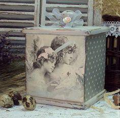 """Короб """"Светлый Праздник"""" - короб для хранения,для кухни,для рукоделия"""
