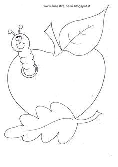 disegni, idee e lavoretti per la scuola dell'infanzia... e non solo Animal Coloring Pages, Colouring Pages, Adult Coloring Pages, Fall Crafts For Kids, Summer Crafts, Felt Patterns, Autumn Art, Art Drawings Sketches, Art Club