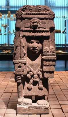 STAR GATES: WHO IS THIS?? WITH CONTROLLING UBJECT IN HIS HAND?? IS HE IN A HI TECH MACHINE?? WHAT IS THE MESSAGE THAT THEY LEFT HERE FIR US IN PLANET EARTH?? THOUSANDS YEARS AGO?? WHAT DO YOU SEE?? WHAT DO YOU THINK?? WHAT DO WE KNOW?? Sculptures of Goddess Chicomecoatl. Mexico *
