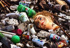 PJTV - Fantasy Island: Scientist Slashes His Estimate of Ocean's Plastic.garbage in, garbage out. Ocean Pollution, Plastic Pollution, Our Planet, Save The Planet, Pacific Trash Vortex, Great Pacific Garbage Patch, Marine Debris, Trash Art, Help The Environment
