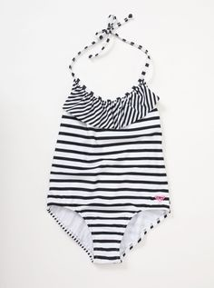 Roxy Toddler Ruffle One Piece Swimsuit