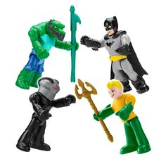 Batman Superman 12in 2pcs Toy Figure Large Doll DAWN OF JUSTICE Arms Bended Gift