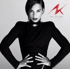 Alicia Keys put her hands on her hips.