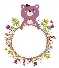 웃♥ ♥ ♥ ♥ ♥ ♥ 웃♥ ♥ ♥ ♥ ♥ ♥ 웃 Craft Stick Crafts, Diy And Crafts, Paper Crafts, Cubby Name Tags, Text Frame, Frame Background, Borders And Frames, Planner, Mug Designs