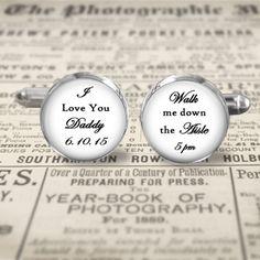 Wedding Cuff Links  Accessories  Cufflinks  I by MaDGreenCreations